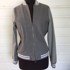 Thread & Supply Sherpa Fleece Lined Bomber Jacket
